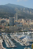 Marina of Monte Carlo in Monaco Stock Photography