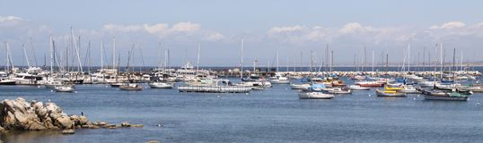 The marina in Monterey Royalty Free Stock Photography