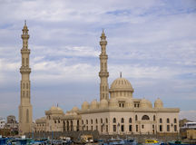 Marina mosque in Hughada Royalty Free Stock Photo