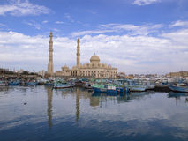 Marina mosque in Hughada Stock Photography