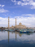 Marina mosque in Hughada Royalty Free Stock Images