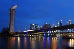 Marina most i Obrazy Royalty Free