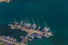 Marina Murter aerial Royalty Free Stock Photography
