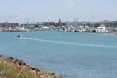 Marina, Napier. Marina in Ahuriri, Napier, New Zealand Stock Photos