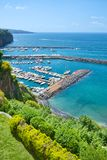 Marina near Sorrento. Marina di Cassano, near Sorrento, Gulf of Naples, Italy Stock Photography
