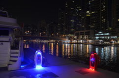 Marina by night, Dubai, UEA. Stock Images