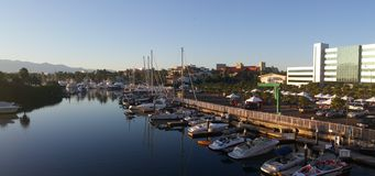 Marina in Nuevo vallarta mexico Royalty Free Stock Photography