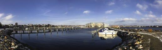 Marina in Nyborg, Denmark Stock Image