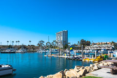 Marina at Oceanside, California Royalty Free Stock Photography