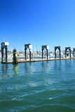 Marina- och gästMoorage Royaltyfri Bild