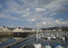 Marina- och harboursideutveckling Royaltyfri Foto