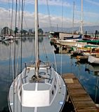 marina łodzi fotografia stock