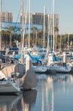 Marina łodzie Zdjęcie Royalty Free