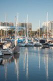 Marina łodzie Obrazy Stock