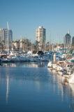Marina łodzie Zdjęcie Stock