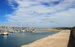 Marina of Oeiras Royalty Free Stock Image