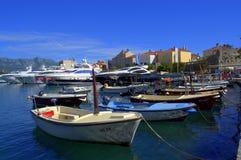 Marina and Old Town Budva Stock Photo