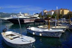Marina and Old Town Budva Royalty Free Stock Photo