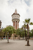 Marina olympic park tower,Barcelona Royalty Free Stock Photos