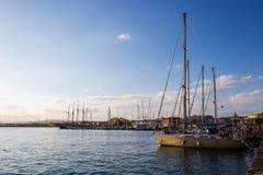 Marina in Ortigia. Sicily Stock Image