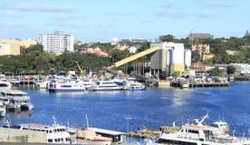 Marina på den Blackwattle fjärden, Sydney Arkivfoton
