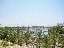 Marina in Palma de Majorca Stock Photo