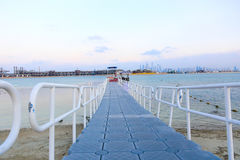 Marina Palmowa wyspa Dubaj Obraz Stock