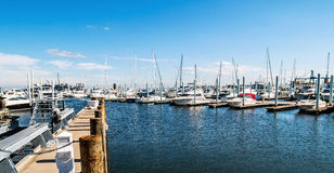 Marina Panorama Stock Photography