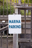 Marina parking Royalty Free Stock Photo