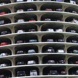 marina parkingu miasta. Fotografia Royalty Free