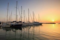 Marina in Patras. Stock Photography