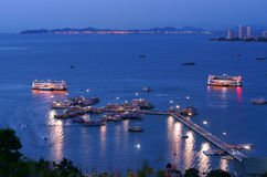 The Marina at Pattaya Royalty Free Stock Photography