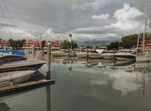 Marina at phuket Royalty Free Stock Photography