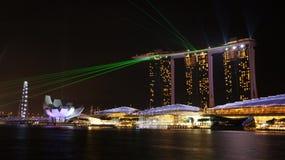 Marina piasków światła laseru Podpalany przedstawienie 01 Zdjęcia Royalty Free