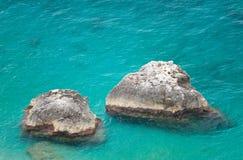 Marina Piccola on Capri Island, Italy. View of Marina Piccola, Island of Capri, Campania, Italy Royalty Free Stock Photo