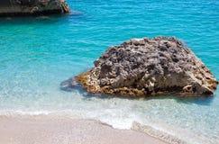 Marina Piccola on Capri Island, Italy. View of Marina Piccola, Island of Capri, Campania, Italy Stock Images