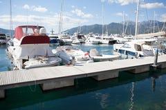 Marina pier Royalty Free Stock Photos