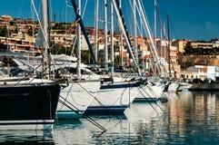 Marina in Piombino, Tuscany, Italy Royalty Free Stock Images