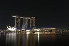 Marina Podpalani piaski Singapur Zdjęcie Stock
