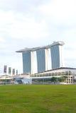 Marina Podpalani piaski w Singapur Zdjęcia Royalty Free
