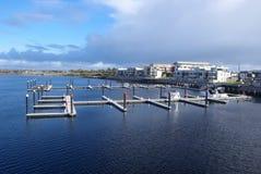 marina pontony Fotografia Stock
