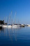 Marina in Porec Royalty Free Stock Images