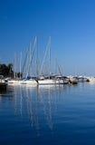 Marina in Porec Royalty Free Stock Images