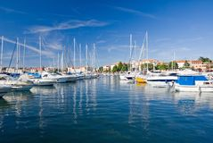 Marina of Porec Royalty Free Stock Photos