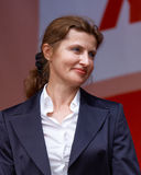 Marina Poroshenko - wife of President of Ukraine Petro Poroshenk Royalty Free Stock Photo