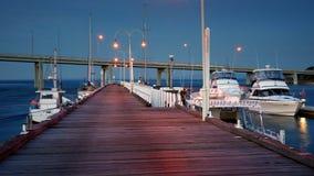 Marina port Stock Image