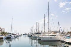 Marina Port El Kantaoui, Tunesien Lizenzfreie Stockfotografie