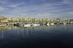 Marina port morski zdjęcia royalty free