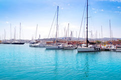 Marina port in Palma de majorca Stock Photo