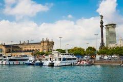 Marina in port Vell on September 21  2012, in Barcelona. More t Stock Photo